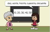 Spanish Numbers Unit, Números en español