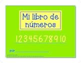 Spanish Numbers Writing Book