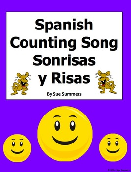 Spanish Numbers and Counting Song - Sonrisas y Risas
