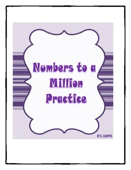 Spanish Numbers from 10,000 to a Million