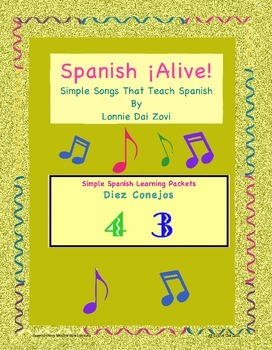Spanish Numbers with Spanish ¡Alive! Musical Mini-lessons – Diez conejos