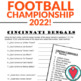 Spanish Numbers Activity: Super Bowl Team Rosters