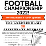 Spanish Numbers Worksheet - Practice from 1 - 100 - Spanis