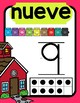 Spanish Nursery Rhyme Number Posters