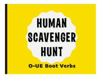 Spanish O-UE Boot Human Scavenger Hunt