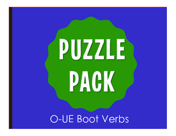 Spanish O-UE Boot Verb Stations