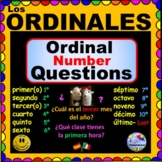 Spanish ORDINAL Number Questions!
