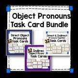 Spanish Object Pronoun Task Card Bundle - Direct & Indirect Object Pronouns
