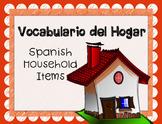 Spanish Objects in House PowerPoint - Common Household Items, La Casa y El Hogar