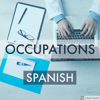 Spanish Occupations Activity Sheets