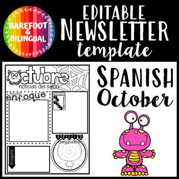 Spanish October Class Newsletter