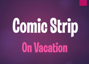Spanish On Vacation Comic Strip
