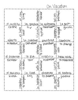 Spanish On Vacation Jigsaw Puzzle