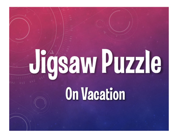 Spanish On Vacation Jigsaw Puzzle