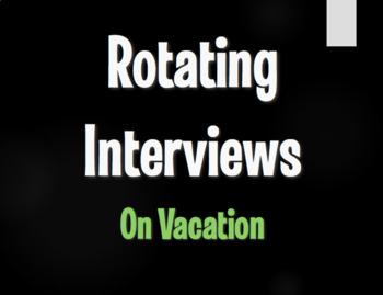 Spanish On Vacation Rotating Interviews