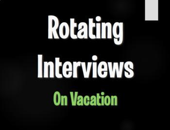 Spanish On Vacation Rotating Interviews