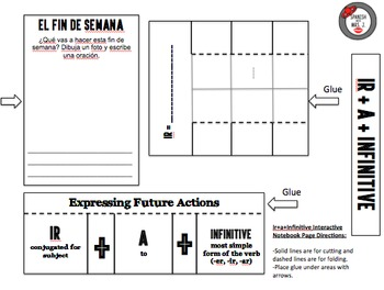 Spanish One Interactive Notebook Pages Bundle