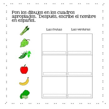 Spanish One Interactive Notebook and Google Drive Activities