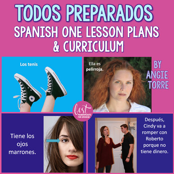 Spanish One Lesson Plans and Curriculum for an Entire Year