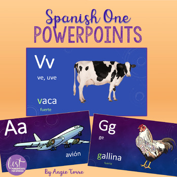 Spanish One PowerPoints