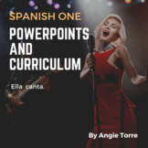 Spanish One PowerPoints and Curriculum Distance Learning
