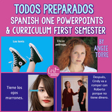 Spanish One PowerPoints and Curriculum: First Semester