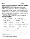 Spanish One Reading Assessment - School Unit