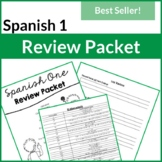 Spanish One Review Packet