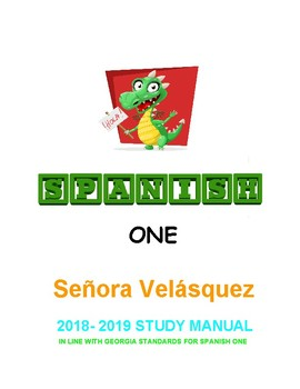 Spanish One Study Manual based on GA Foreign Language Standards