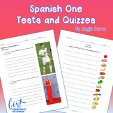 Spanish One Tests | Quizzes | Assessments | Worksheets Distance Learning