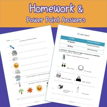 Spanish One and Two PowerPoints and Curriculum Mega Bundle