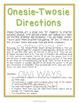 Realidades 1 - 3A - Onesie Twosie - Spanish Food Vocab + Present Tense