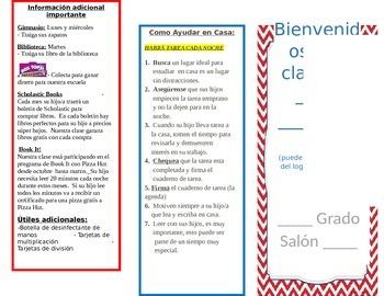 Spanish Open House Brochure