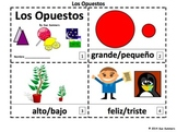 Spanish Opposites 2 Emergent Reader Booklets - Los Opuestos