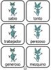 Spanish Opposites Cards