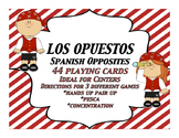 Spanish Opuestos Playing Cards Opuestos en Espanol