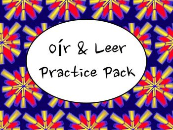 Spanish Oír & Leer (Present and Preterite) Practice Worksheets Pack