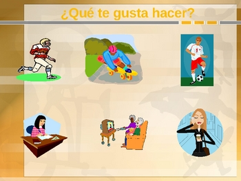 Spanish Oral Practice - After school activities