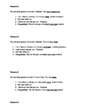 Spanish Oral Presentation- Greetings