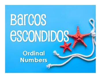 Spanish Ordinal Numbers Battleship-Style Game