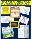 Spanish Ordinal Numbers Bundle