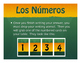 Spanish Ordinal Numbers Golf