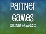 Spanish Ordinal Numbers Partner Games