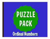 Spanish Ordinal Numbers Puzzle Pack