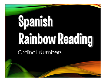 Spanish Ordinal Numbers Stations