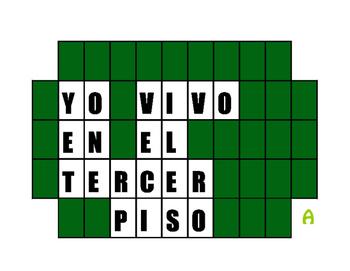 Spanish Ordinal Numbers Wheel of Spanish