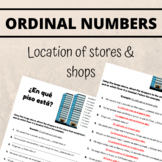 Spanish Ordinal Numbers Worksheet