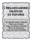 Spanish Organizadores Graficos Graphic Organizers