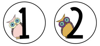 SPANISH Owl Classroom Decor Set! Over 90 pages!