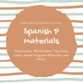 Spanish P Articulation Materials
